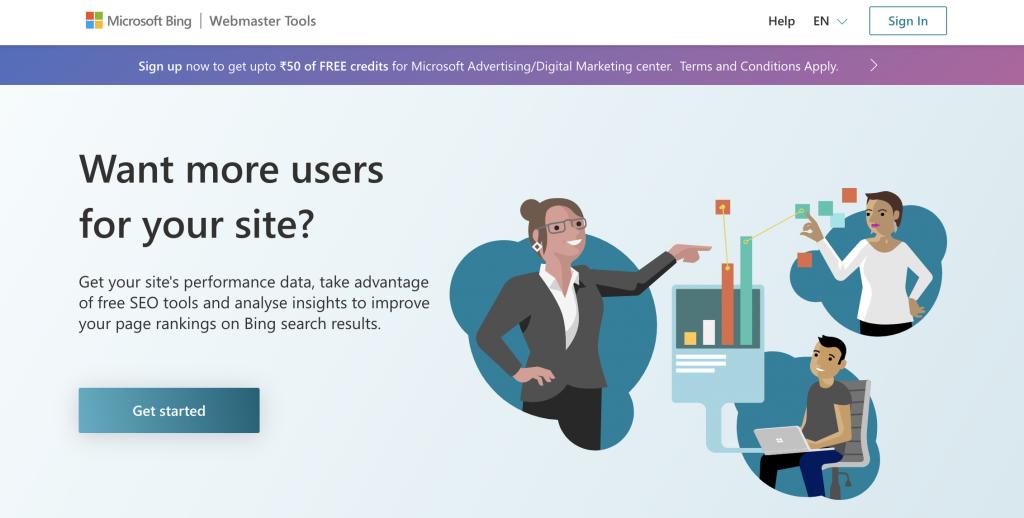 Analytics tool for blogging