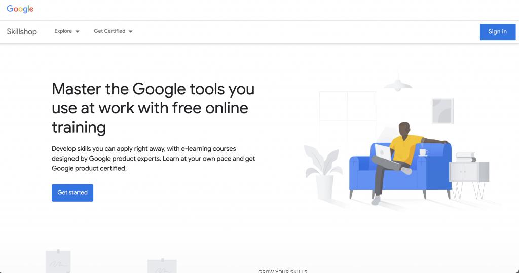 Google Skillshop: Free tools from Google