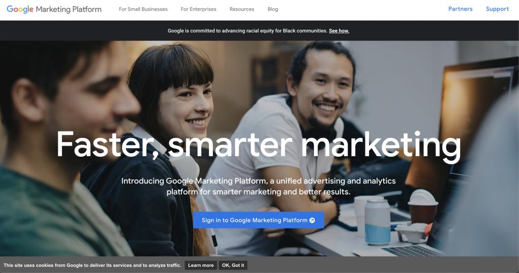 Google Marketing Platform: Free tools from Google