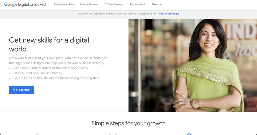 Google Digital Unlocked: Free tools from google