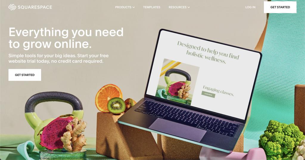 Squarespace: Free website hosts