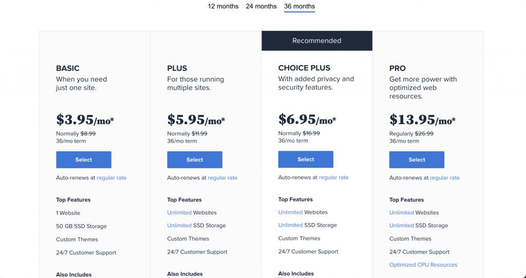 Bluehost: Website Hosts